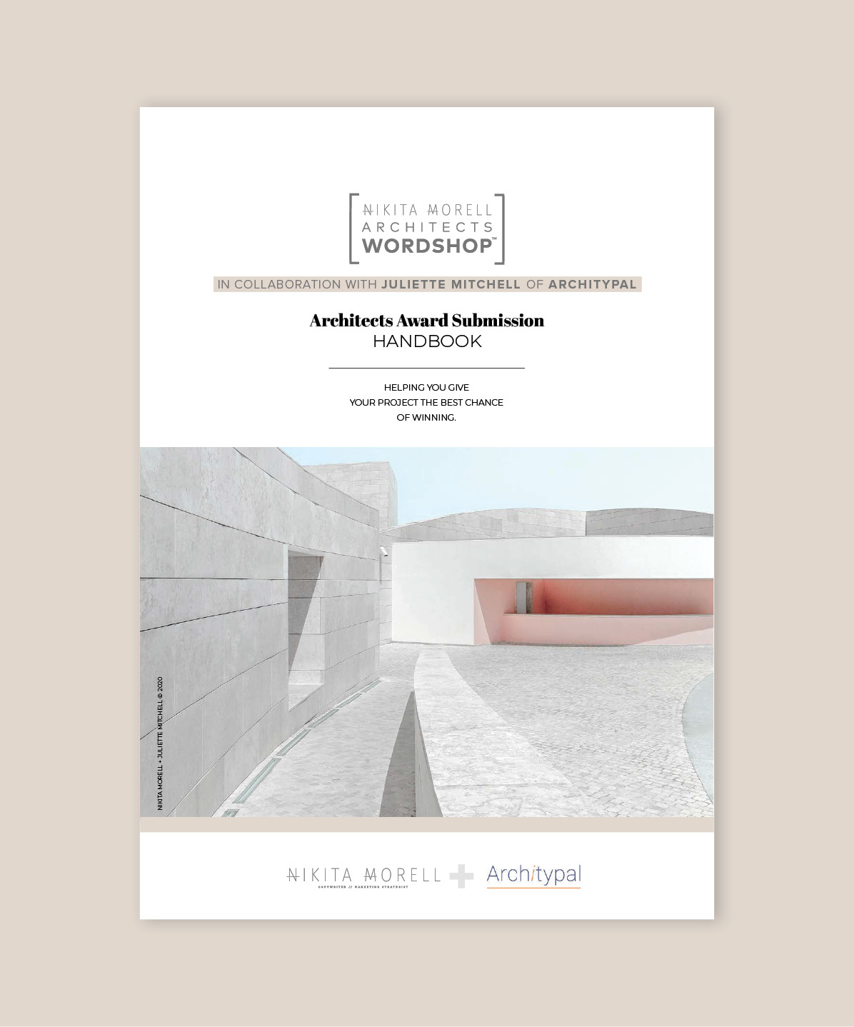 Architect Award Submission Handbook Cover